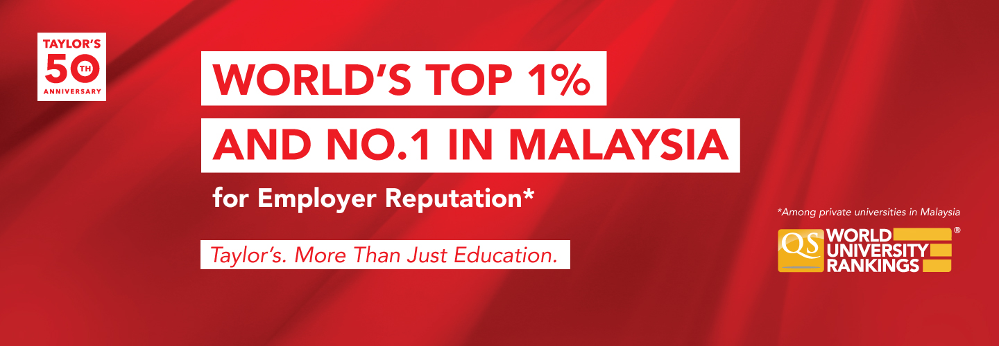 Taylor's University Continues To Lead As Malaysia's Most